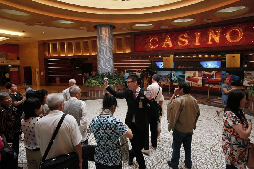 Genting Singapore, which owns Resorts World Sentosa (above), cited a downturn in the gaming industry in Asia as a factor in its results.