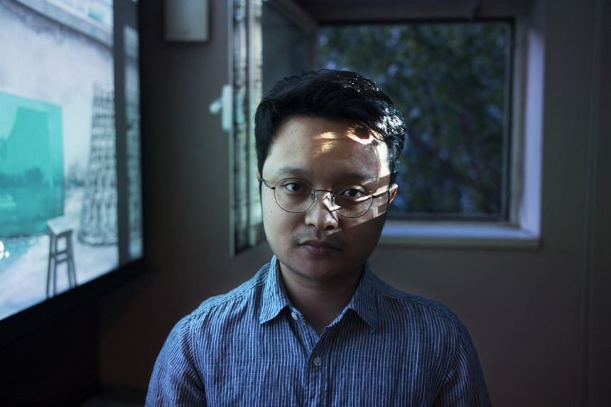 Kaili Blues (above), by Chinese film-maker Bi Gan (below), had its world premiere at the Locarno International Film Festival in Switzerland.