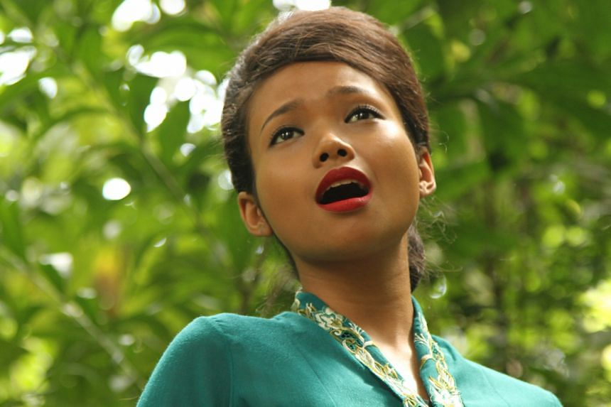 Nadiah M. Din stars in Cinema, director Eric Khoo's contribution to 7 Letters.