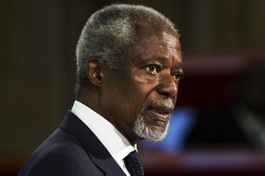 Former UN secretary-general Kofi Annan said technological advances mean businesses no longer need to choose between economic growth and climate stability.