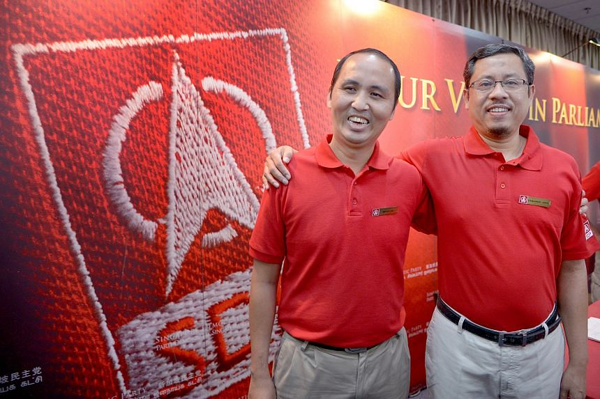 The latest SDP candidates to be introduced are Mr Bryan Lim and Mr Damanhuri Abas. The party remains tight-lipped on where its candidates will stand.