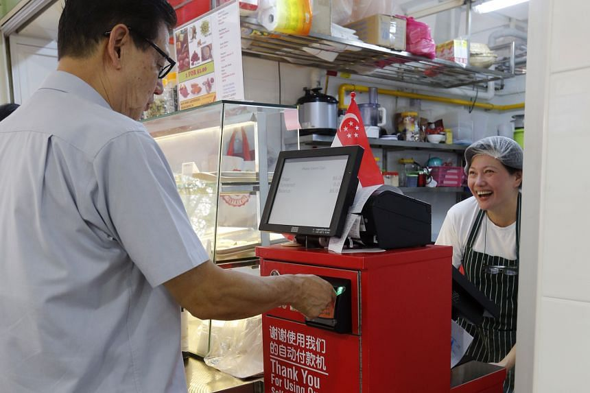 A new 24-hour hawker centre at Ci Yuan Community Club has introduced self-payment kiosks at all its stalls.