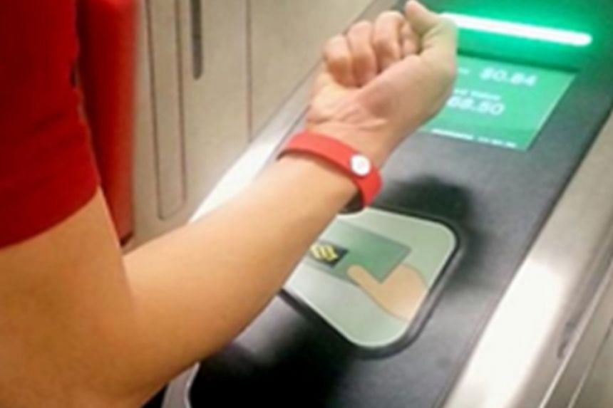The Sony wristband that can replace the ez-link card is encoded with a digital Cepas chip, and allows users to establish a Bluetooth connection to check their value balance and transactions while on the go. The six-month trial starts today.