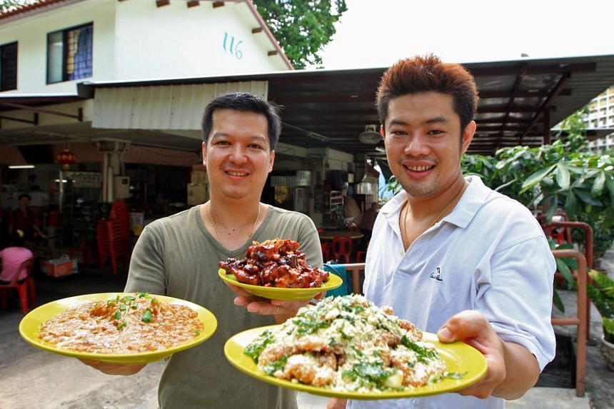 Two Chefs Eating Place serves signature dishes such as butter pork ribs.