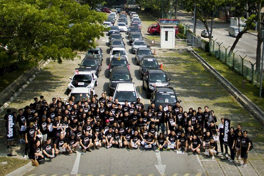 The 25-hour Torque On The Move treasure hunt had 160 participants in 80 cars.