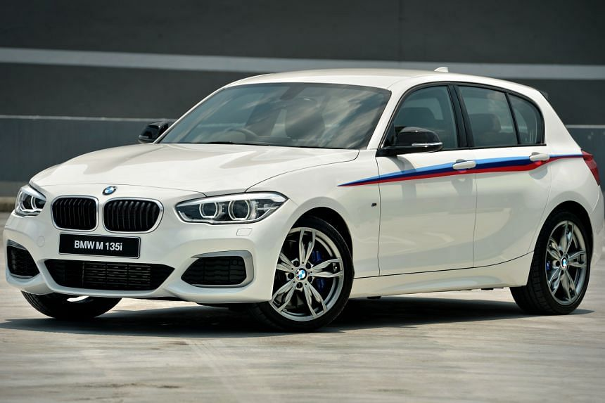 The revised M135i, in five-door form, is tuned to be well-rounded and balanced in any situation.