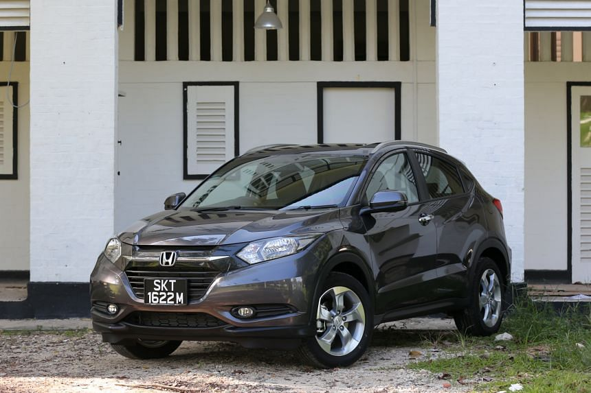 The Honda Vezel, now the best-selling parallel import, arrived a year earlier than the Honda HR-V (above) - the name of the same car assigned to Honda agent Kah Motor.