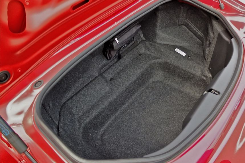 The fourth-generation MX-5 is fun to drive but comes with little boot space.