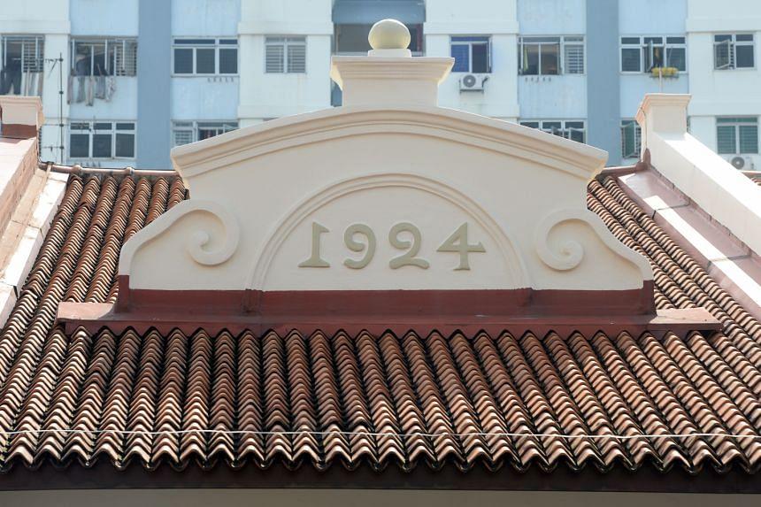 Roof pediment.