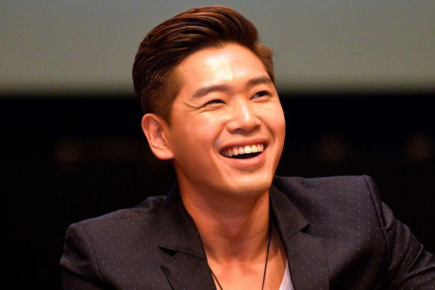 Actor Romeo Tan.