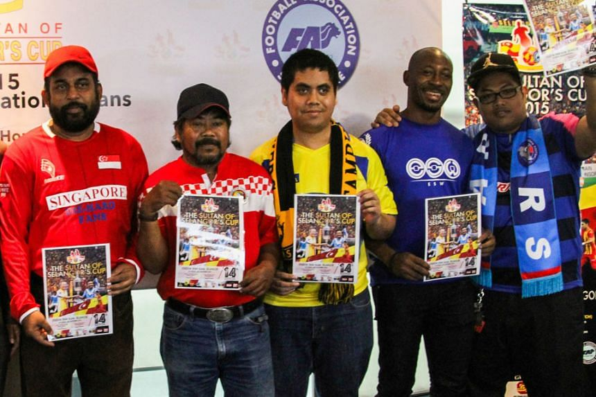 Representatives from various S-League fan clubs received their tickets to the 14th edition of the Sultan of Selangor Cup at the Jalan Besar Stadium yesterday evening. The match, to be played at the Shah Alam Stadium on Oct 24, is an annual friendly b