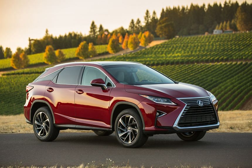 The new Lexus RX looks sportier yet retains its roomy interior.
