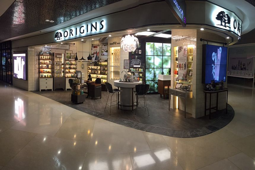 Customers can enjoy complimentary skin analysis and facial services at the Origins store at Ion Orchard.