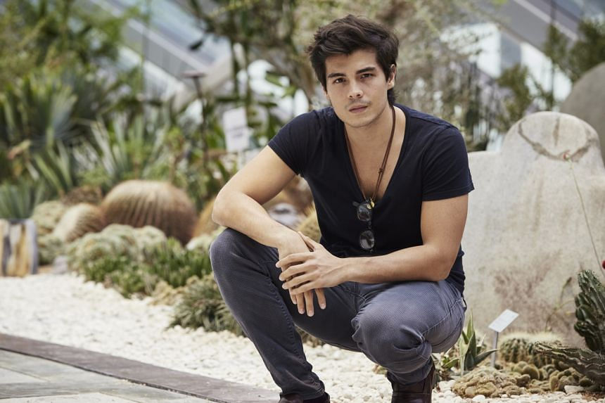 During his college days, Erwan Heussaff tipped the scales at 110kg.