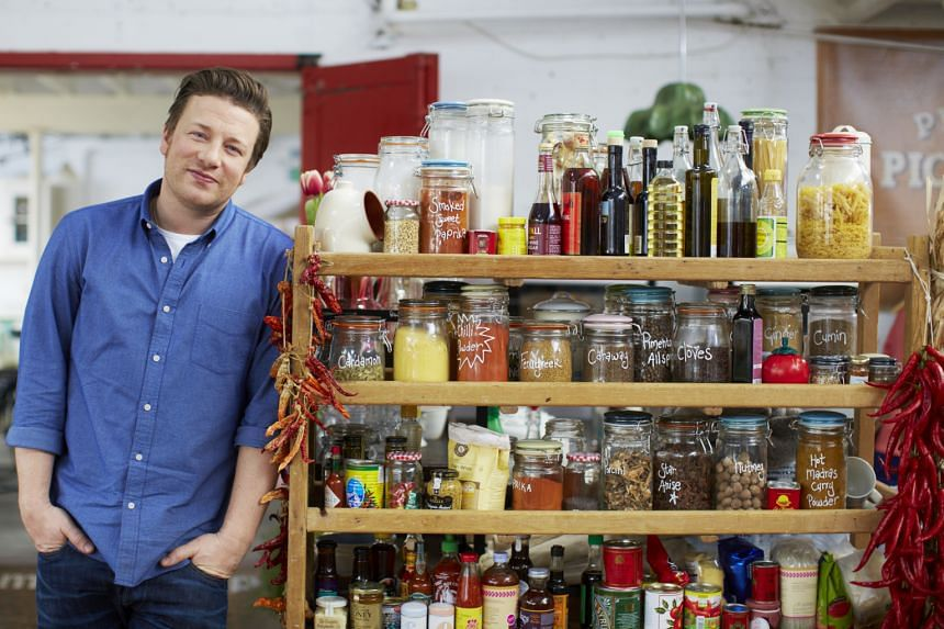Jamie Oliver shows how to prepare hearty meals on a shoestring budget.