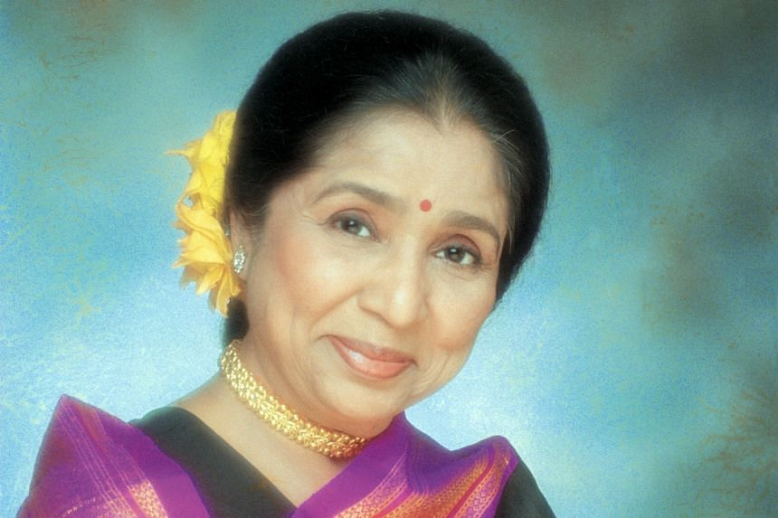 Asha Bhosle (left) is listed in the Guinness Book Of World Records as the most recorded singer.