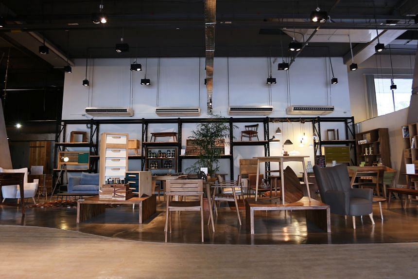 Mountain Living (above) is a new concept store by Mountain Teak.