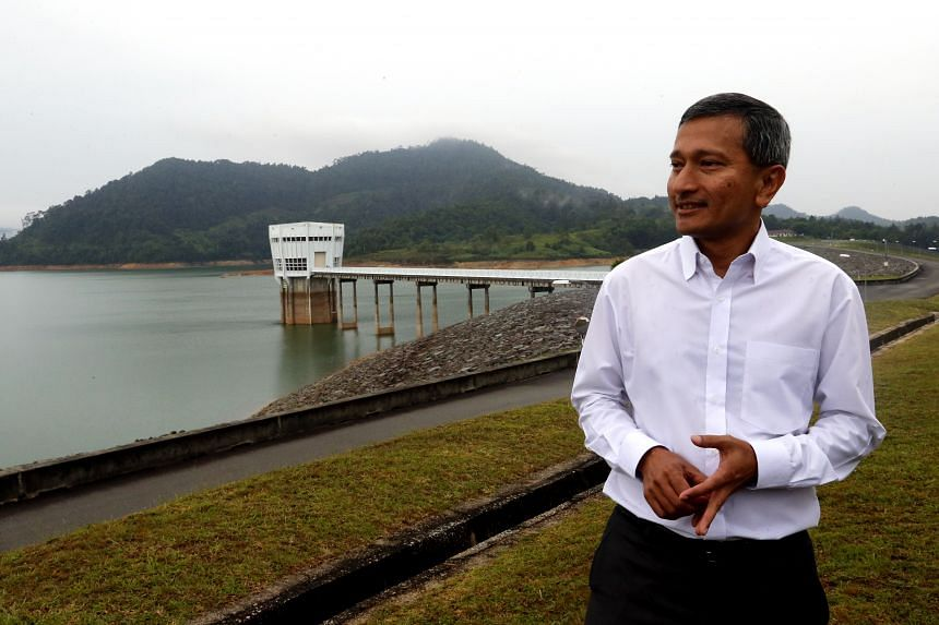 Dr Vivian Balakrishnan (left), who will head the Ministry of Foreign Affairs, has played key roles in brokering environmental deals on the global stage.