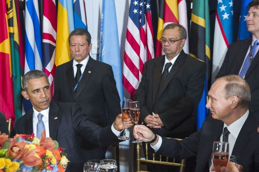 There was no mistaking the chilly vibes between US President Barack Obama and his Russian counterpart Vladimir Putin when they met on the sidelines of the UN General Assembly in New York on Monday. Stony-faced expressions said it all, whether they we