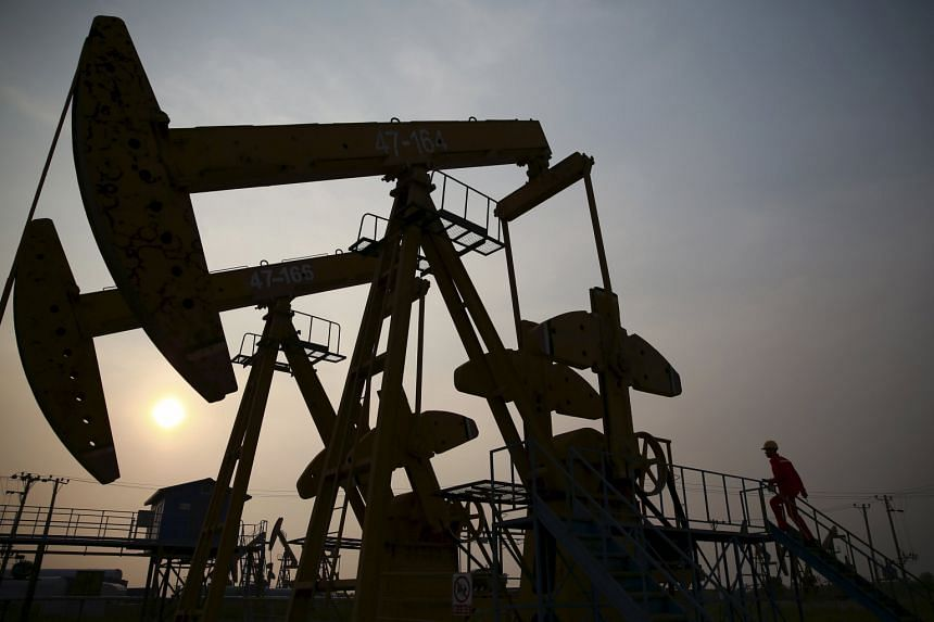 "A pumpjack at a PetroChina oil field in Panjin, Liaoning province. Reform guidelines dictate that the Chinese Communist Party will strengthen its ""leadership role"" over state companies, which include oil giants PetroChina and Sinopec Group."