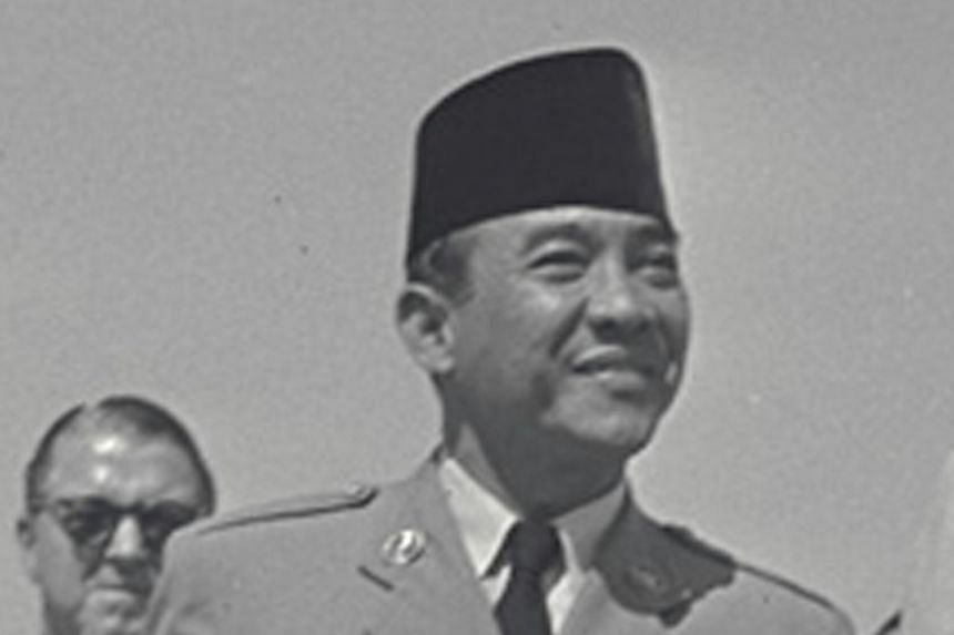 """Indonesian President Sukarno stressed that he """"remained firmly"""" in charge of the country and the leadership of the Armed Forces."""