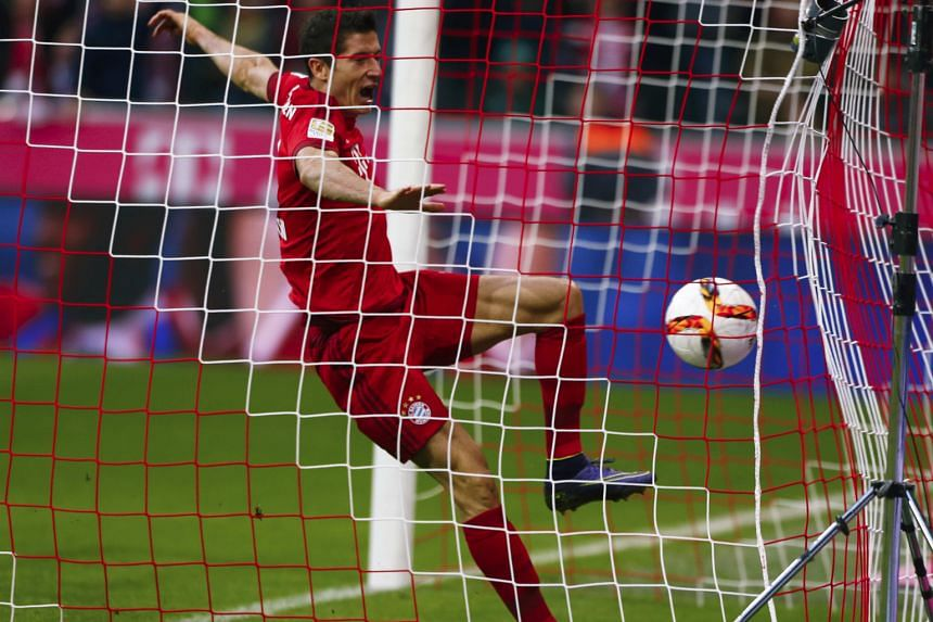 Robert Lewandowski, scoring a goal against his old club Borussia Dortmund, continues his rich vein of form, with his double on Sunday extending his goal haul to 12 from the striker's last four matches.