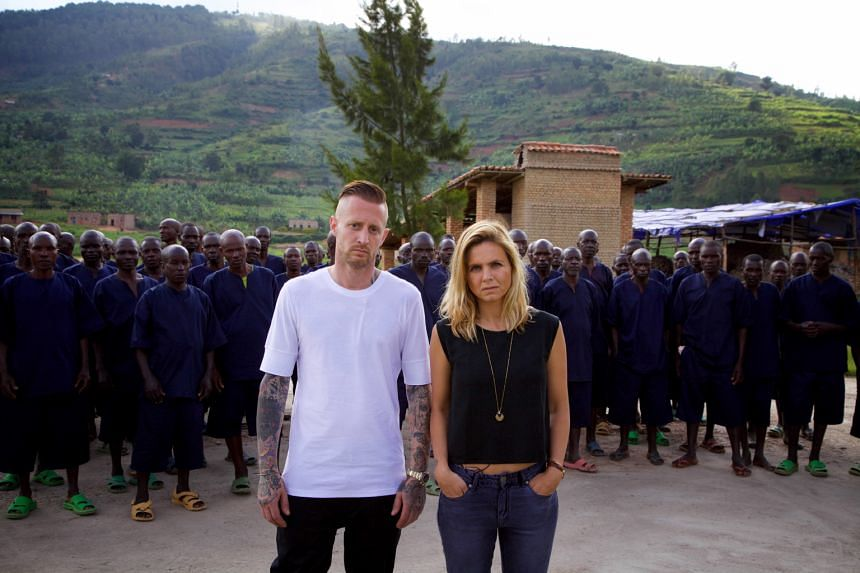American chef Michael Voltaggio and Portuguese journalist Mariana Van Zeller visit strife-ridden areas in the new food and travel TV show Breaking Borders.