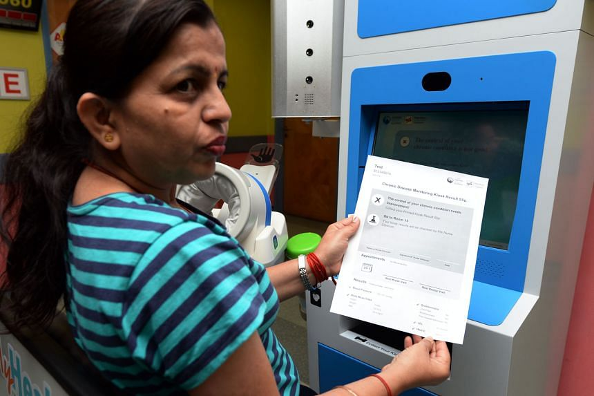 Using the MyHealth Kiosk, patients with chronic diseases can now collect their medication directly on second and third visits without a consultation, as long as the kiosk gives them the green light.