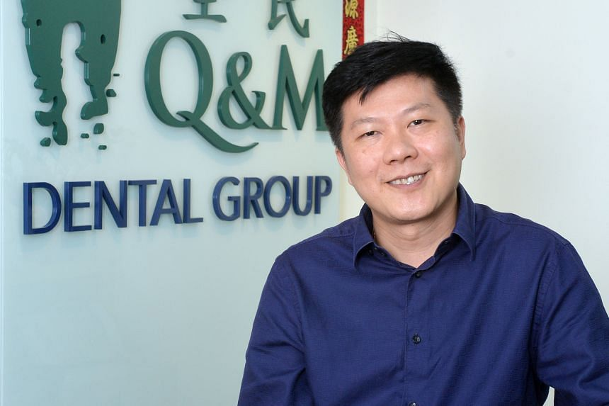 Dr Ng Chin Siau, group CEO of Q&M Dental Group, who manages 76 dental clinics and three dental hospitals across Asia.