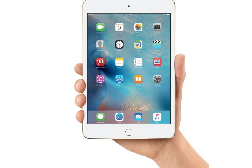 The iPad mini 4 tablet's new fully-laminated design eliminates the air gap between glass and display and makes the tablet 18 per cent thinner than its predecessor.