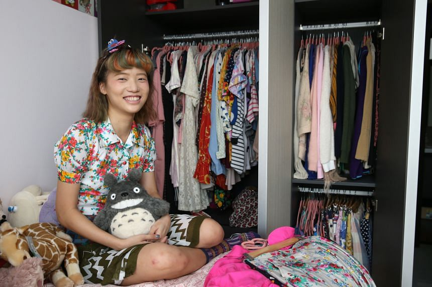 Ms Sybil Teo tries not to spend more than $100 on a fashion item.