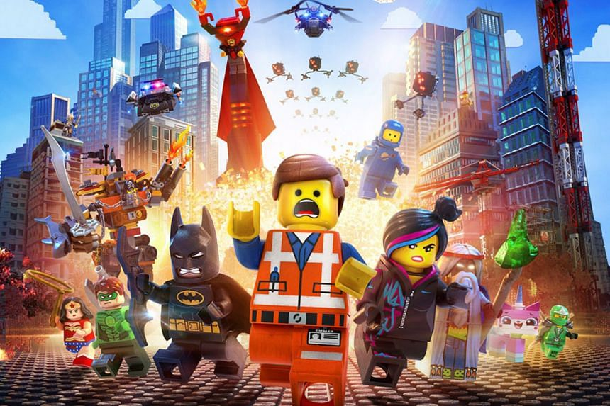 The Lego Movie (left) has fuelled demand for Lego toys.