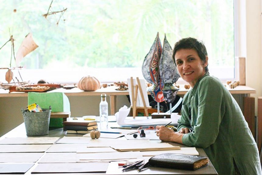 Isabelle Desjeux runs an art and science studio and is the creative director of The Art Of Speed.