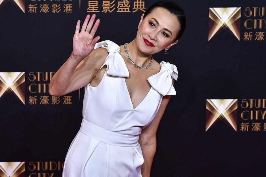 Hong Kong actress Carina Lau was also at the casino resort's opening.