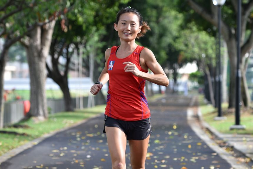 Ironman triathlete Lim Bao Ying is among five local runners in the closed elite category for the half-marathon in the Great Eastern Women's Run.