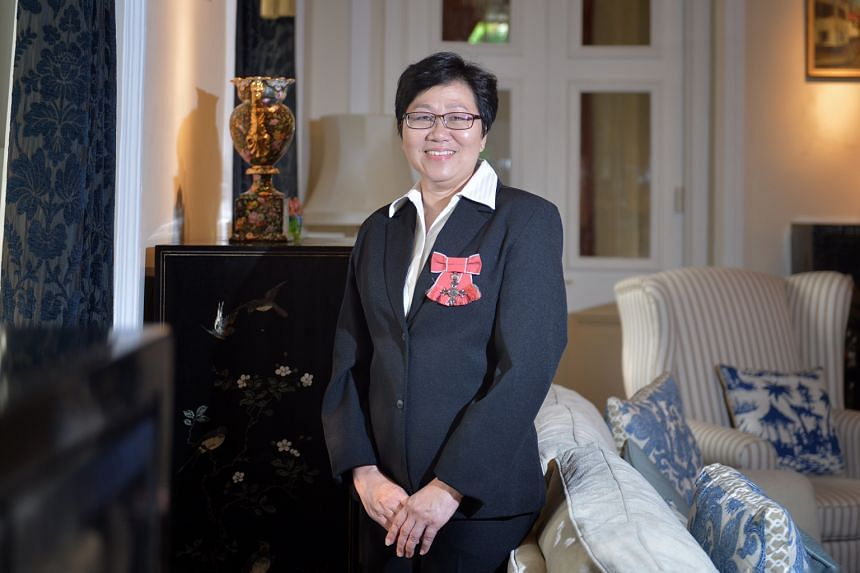 Singaporean Mindy Tay has been working at the British High Commission here for 32 years. She started out as a shorthand typist and is now a trade and investment officer.