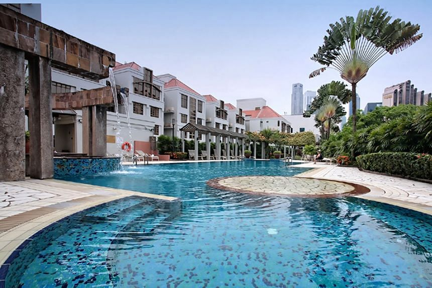 Far East Hospitality Trust's Village Residence Clarke Quay. The Reit manager said that while international visitor arrivals to Singapore fell 0.6 per cent for the first eight months of the year, there are signs of recovery, with positive year-on-year