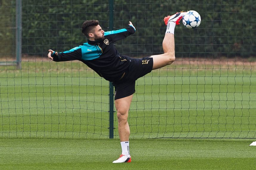 Striker Olivier Giroud, who has six goals in six games, can be relied on to trouble Bayern Munich's defence. Arsenal manager Arsene Wenger says it is not in the club's DNA to defend for 90 minutes.