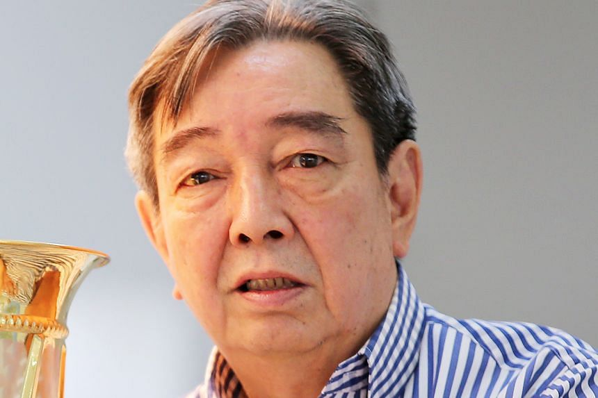 Former Tampines Rovers chairman Teo Hock Seng.