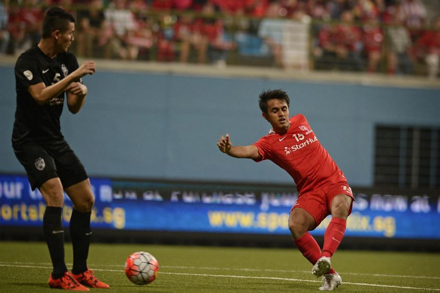 Shahdan Sulaiman's goal in a 1-0 win against Johor Darul Takzim II on Oct 17 put the LionsXII on top of Group A with 10 points. A draw tonight against Terengganu will be enough to seal qualification to the quarter-finals of the Malaysia Cup.