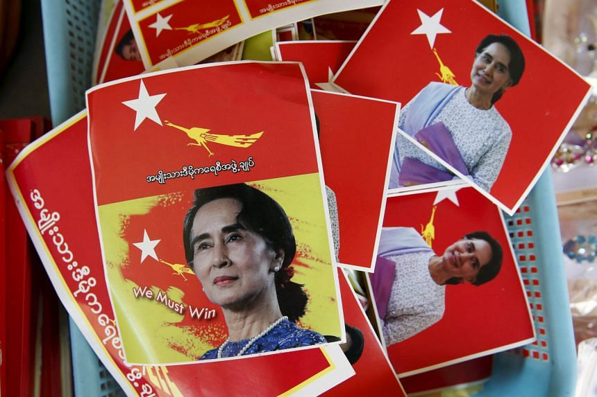 """Ms Aung San Suu Kyi also said if her party wins, she will run a government of """"national reconciliation"""" as she does not believe in persecution or revenge."""