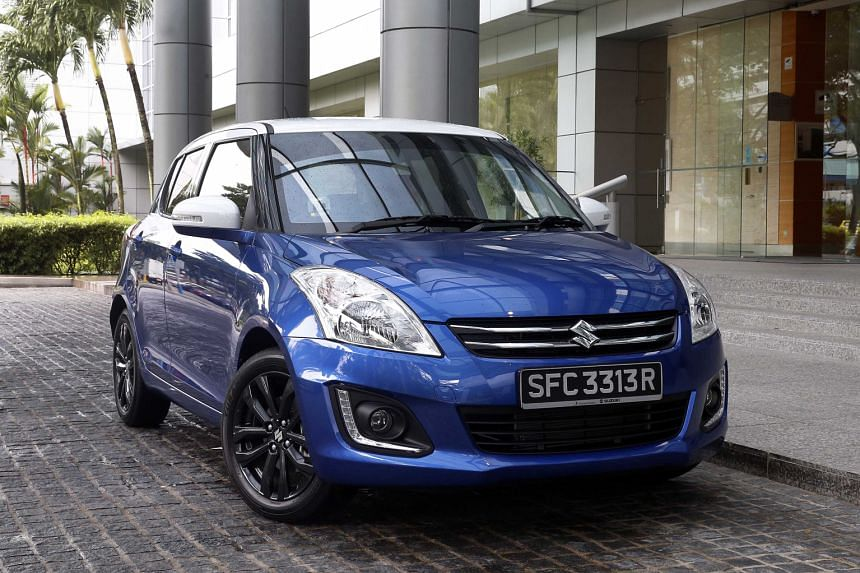 Together with a nip-and-tuck, the Suzuki Swift now also boasts striking two-tone paintwork.