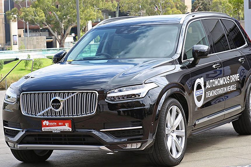 Last weekend's trial in Adelaide involved a self-driving Volvo XC90 going at 70kmh on a 7km stretch of freeway.