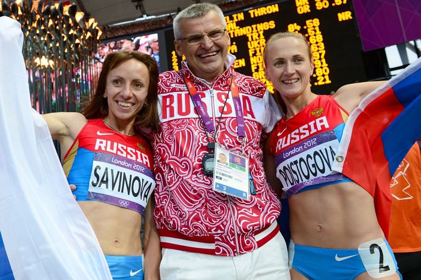 Life bans are proposed for this trio - London 2012 Olympics 800m gold medallist Mariya Savinova and bronze medallist Ekaterina Poistogova, with their coach Vladimir Kazarin. The Moscow Anti-doping Centre has 21 days to appeal against its sanction to