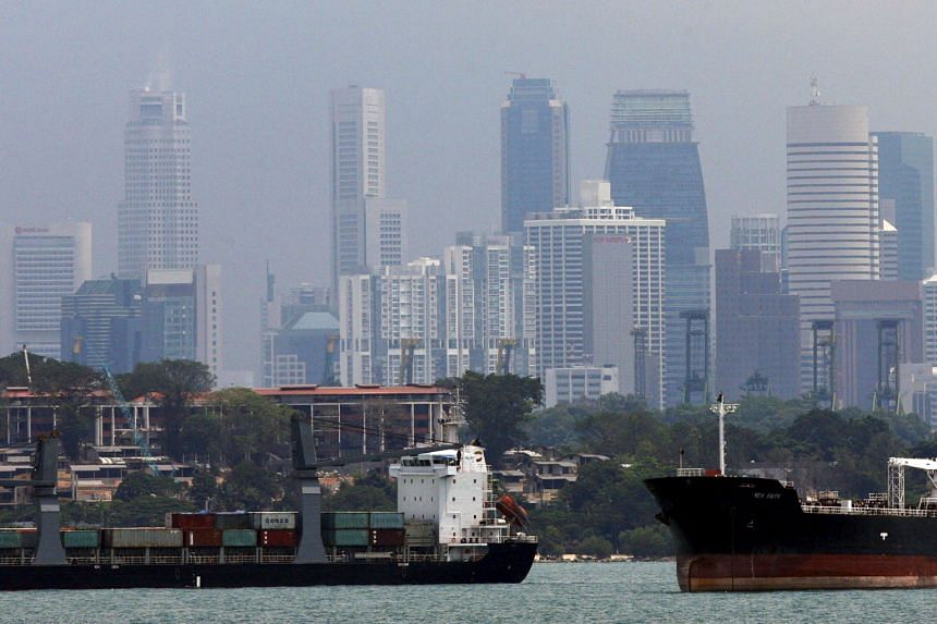 Singapore companies which provide services such as shipping and trade financing could benefit from increased trade between the bigger nations that are part of the new trade agreement.