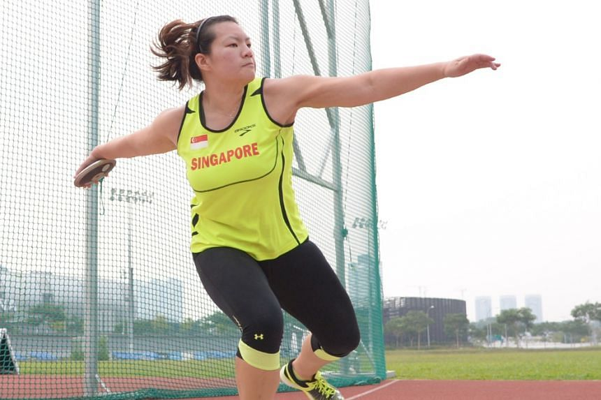 Discus thrower Hannah Lee gave up a fully paid overseas scholarship from Khoo Teck Puat Hospital so she could focus on her participation in the 2015 SEA Games, and her bold move paid off when she won a bronze medal.