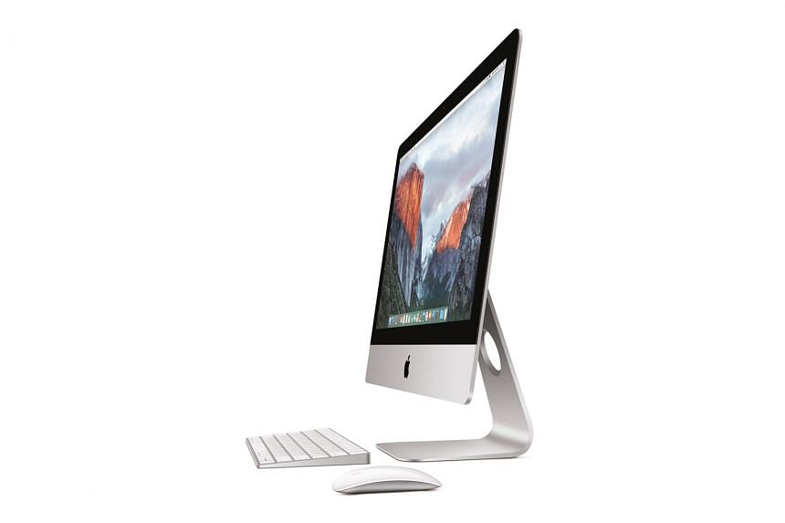 The new 4K iMac, along with other refreshed iMacs, comes with the new Apple Magic Keyboard and Apple Magic Mouse 2. These peripherals and the new Magic Trackpad 2 no longer run on AA batteries, but are rechargeable using the Lightning cable.
