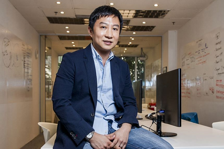 Mr Terence Zou, 40, the founder of Ryde, a local carpooling mobile app which uses GPS technology to connect drivers and passengers going the same way.
