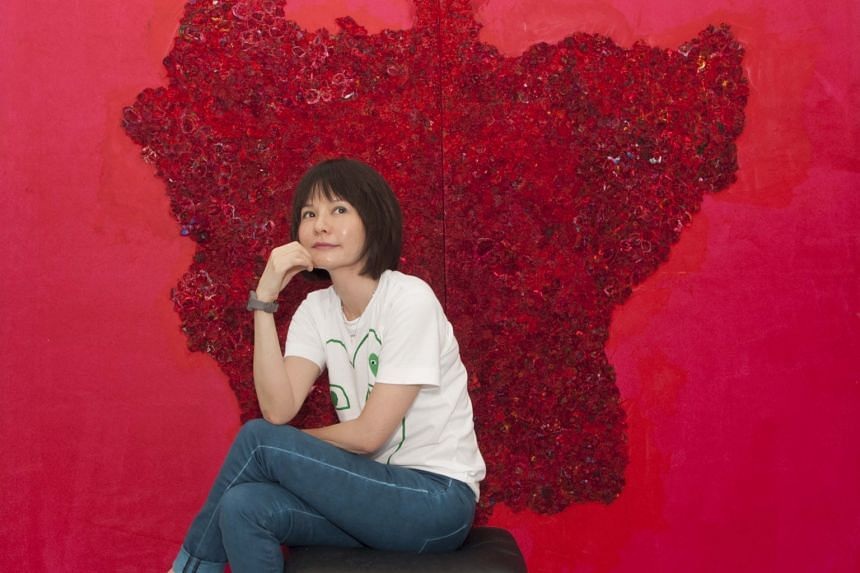Home-grown artist Jane Lee will showcase her print and paper experiments during Singapore Art Week.