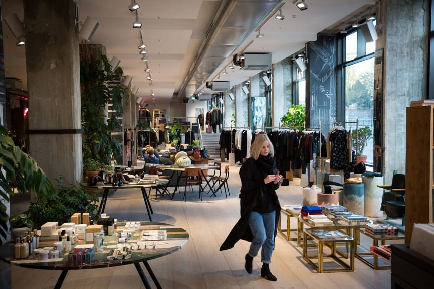 The Store, a creative retail space in Soho House Berlin, has a kitchen serving organic food and holds regular art installations.